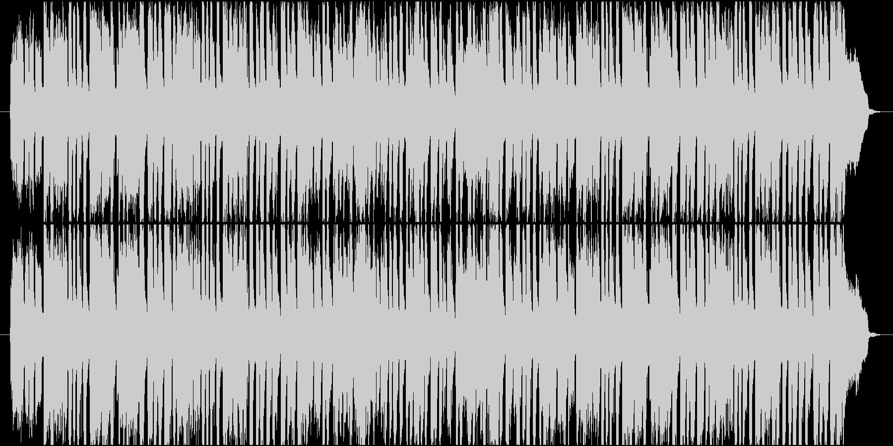 おやつの時間のような軽快で可愛いPOPSの未再生の波形