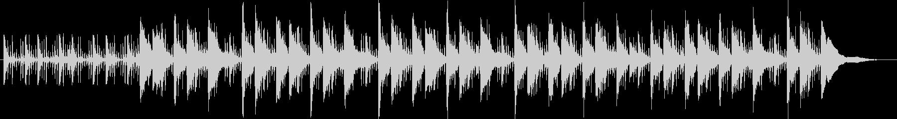 スローテンポジャズコラボの未再生の波形