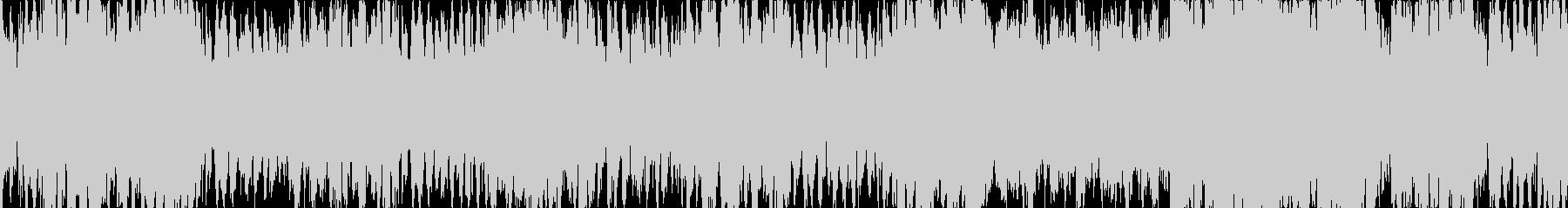 バトル用シンフォニックなループ曲の未再生の波形