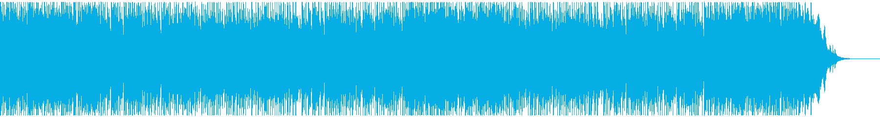 優しくノスタルジックな3拍子曲の再生済みの波形