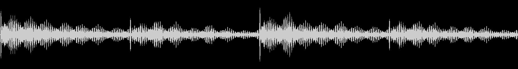 心音のような音の未再生の波形