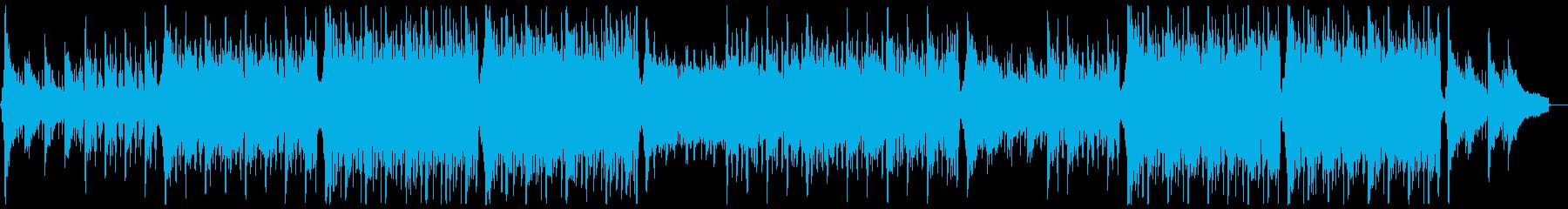 明るく前向きなトロピカルハウス:フルx1の再生済みの波形