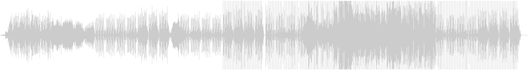かわいい コミカル マニアックの未再生の波形