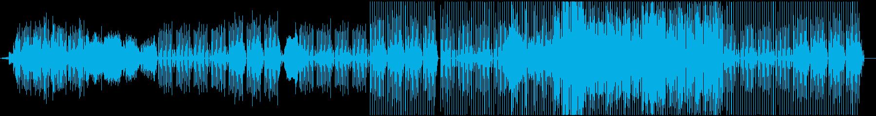 かわいい コミカル マニアックの再生済みの波形