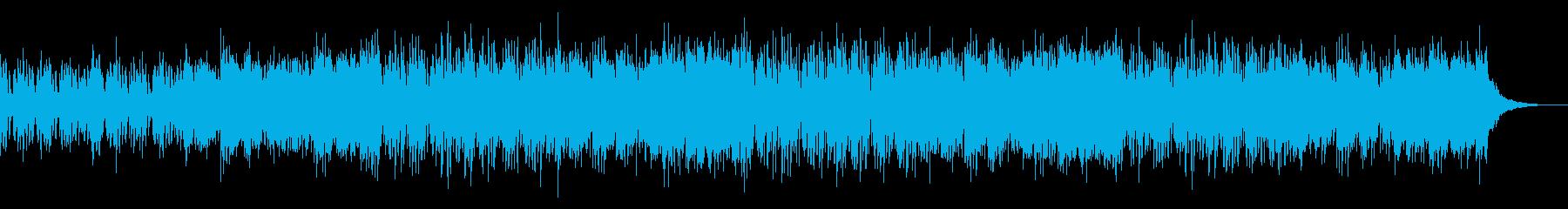 陰鬱でグリッチなトリップホップの再生済みの波形