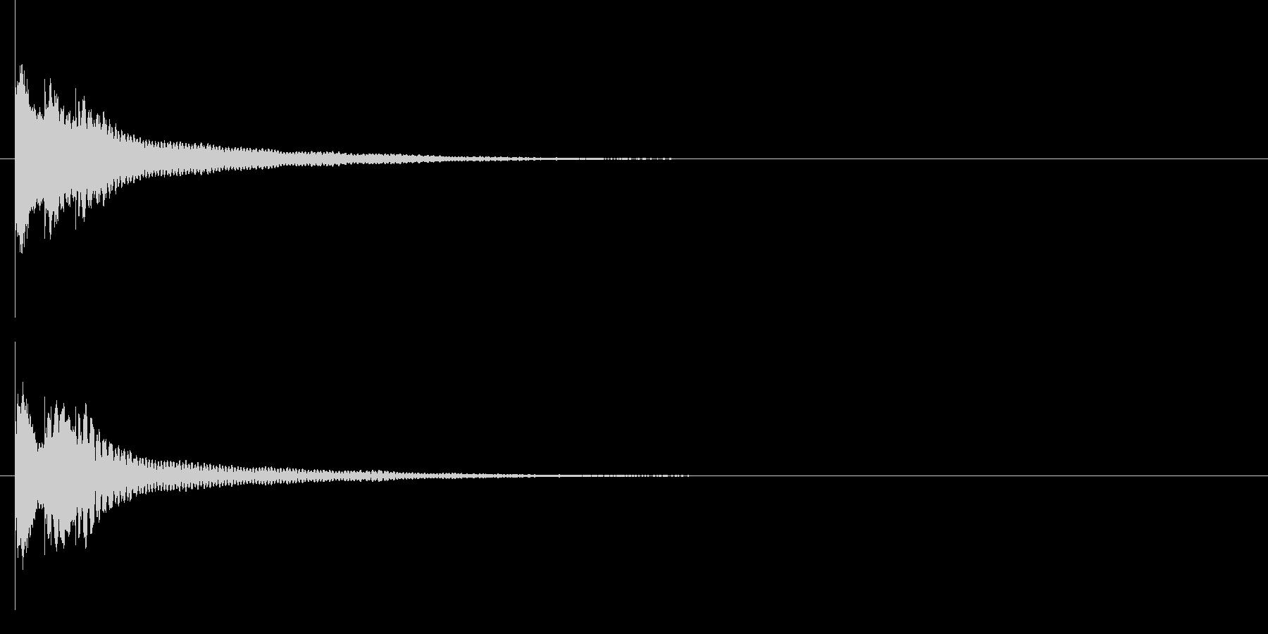 キラリン☆(ワンポイント・グロッケン)の未再生の波形
