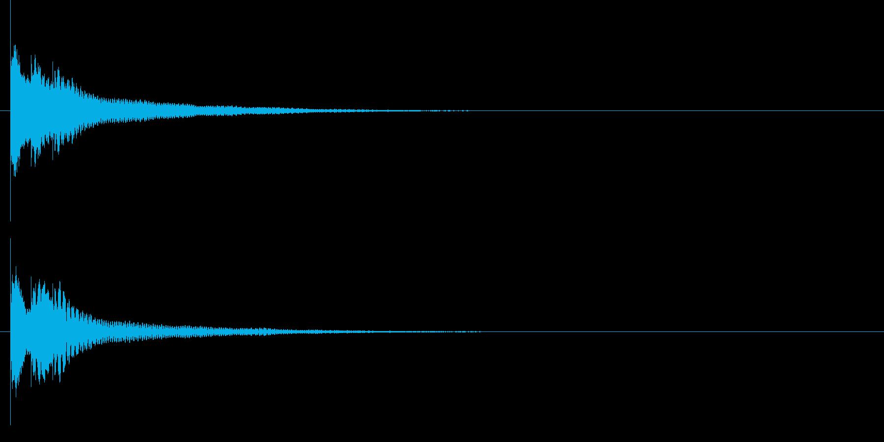 キラリン☆(ワンポイント・グロッケン)の再生済みの波形