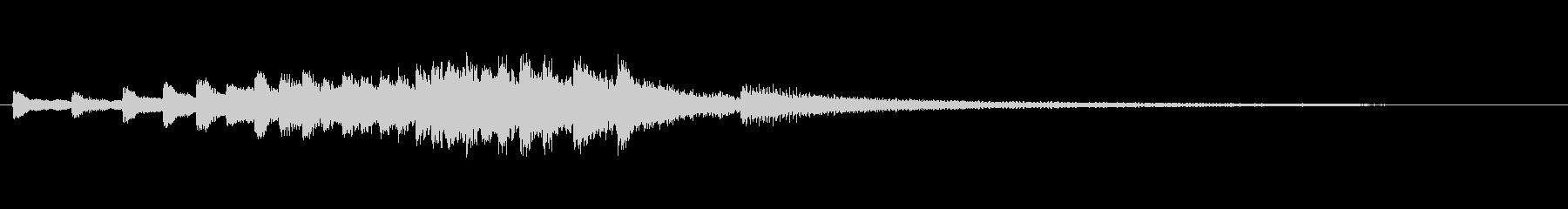 Dialogue3の未再生の波形