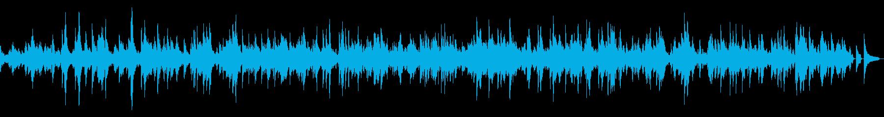 [ベートーベン] 「月光」第1楽章の再生済みの波形
