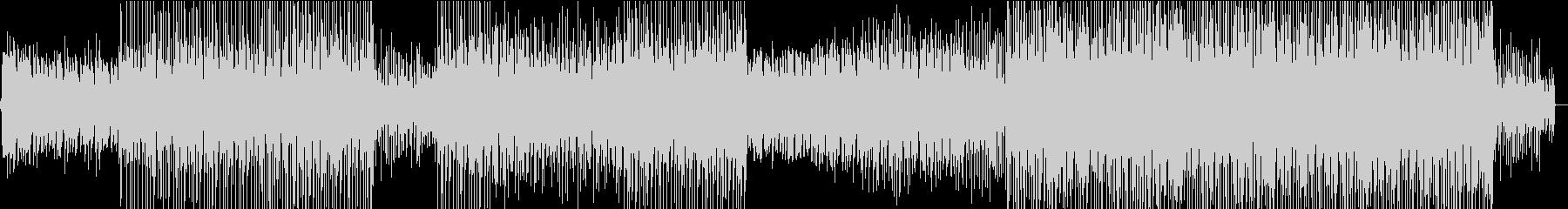 波の音から始まる爽やかなトロピカルハウスの未再生の波形