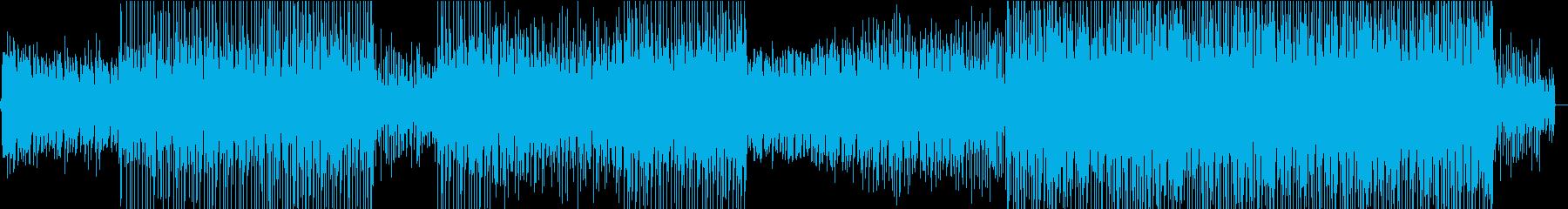 波の音から始まる爽やかなトロピカルハウスの再生済みの波形