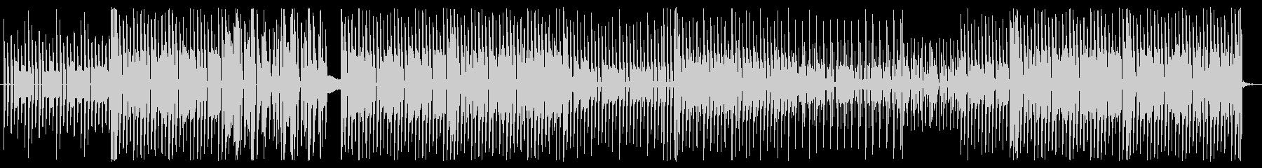昔のRPGの戦闘曲の未再生の波形