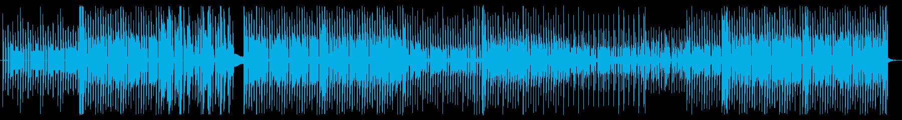 昔のRPGの戦闘曲の再生済みの波形