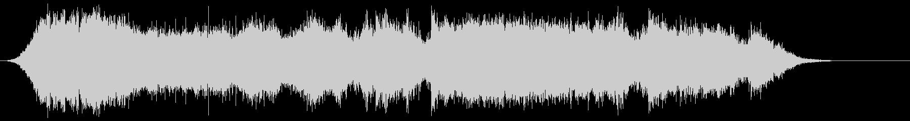 ピカポルテドアの未再生の波形