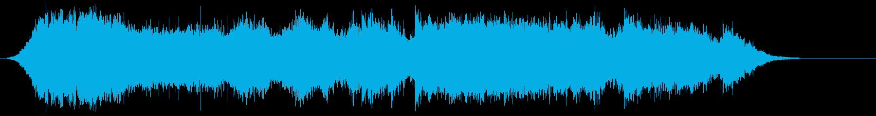 ピカポルテドアの再生済みの波形