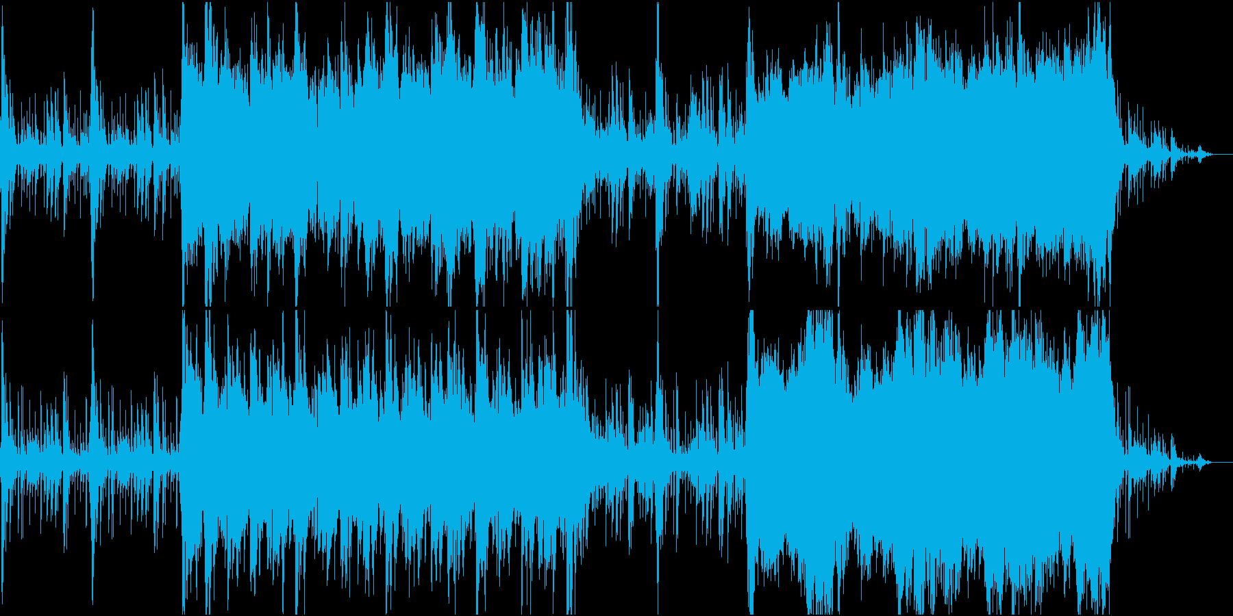 砂漠をイメージしたアラビアンな民族音楽の再生済みの波形