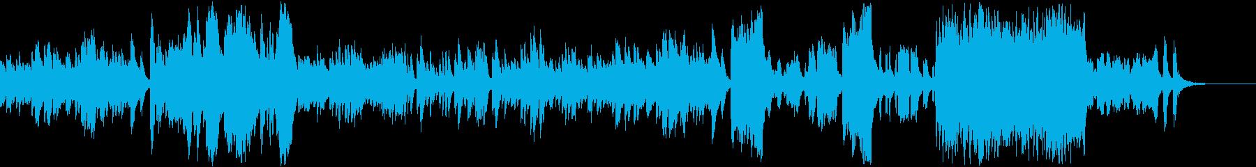 ピアノ協奏曲第27番第3楽章モーツァルトの再生済みの波形