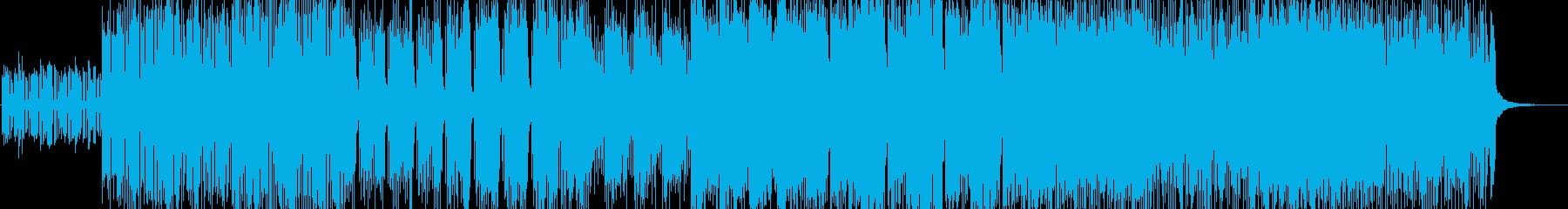 「HR/HM」「DARK」BGM45の再生済みの波形