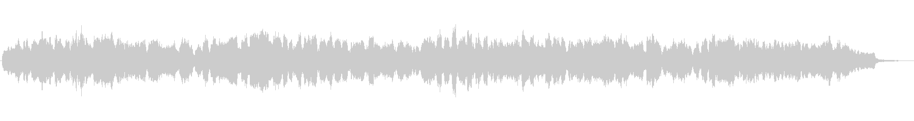 バスクラリネットとシンセのジングル2の未再生の波形