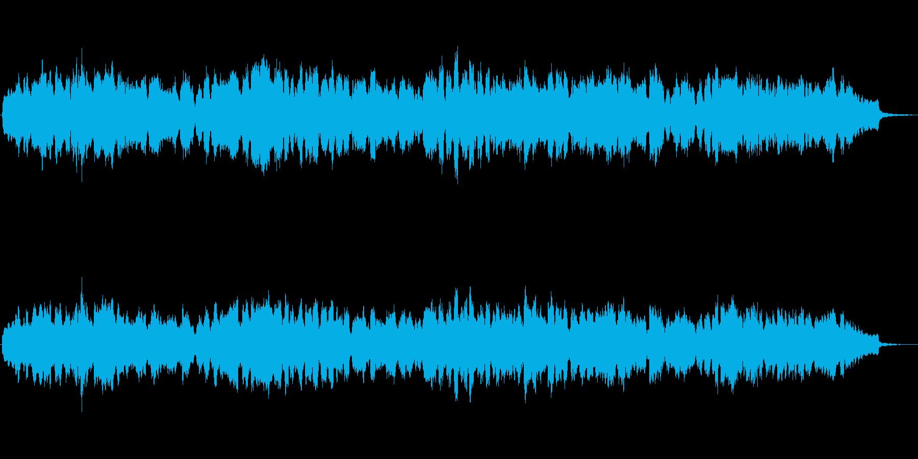 バスクラリネットとシンセのジングル2の再生済みの波形