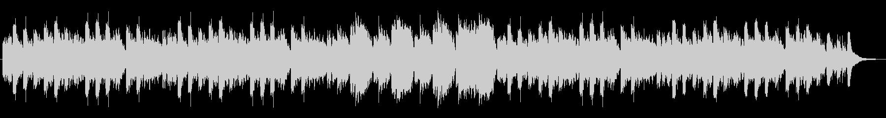 オカリナ・アコースティックギター、静bの未再生の波形