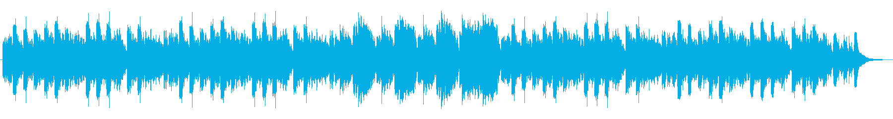 オカリナ・アコースティックギター、静bの再生済みの波形