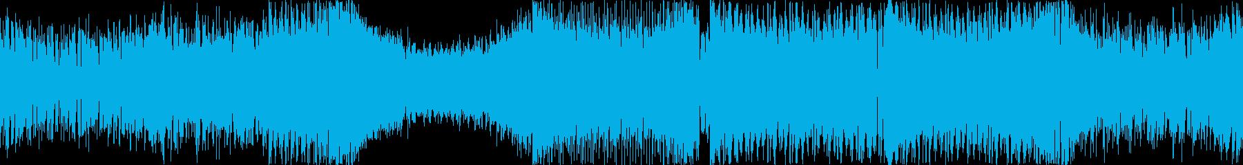 ループ可能 /軽快で疾走感のあるトランスの再生済みの波形