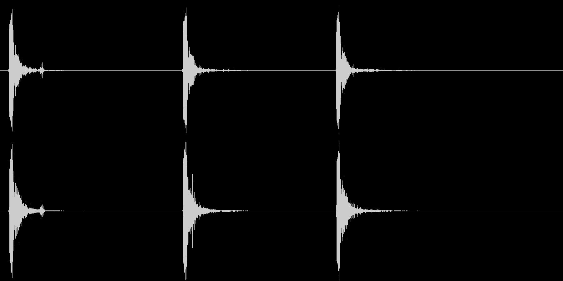 ミニ-14自動:シングルショット(...の未再生の波形