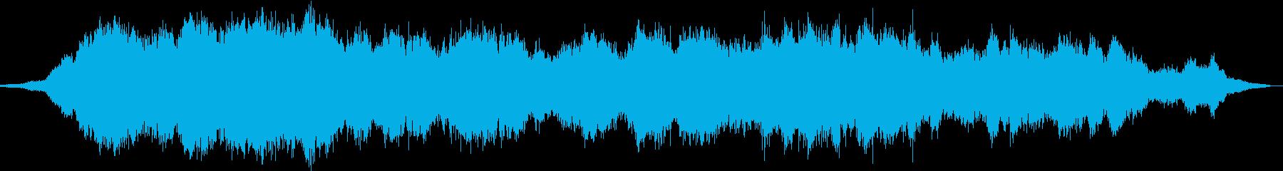 きれいなコードのアンビエントの再生済みの波形