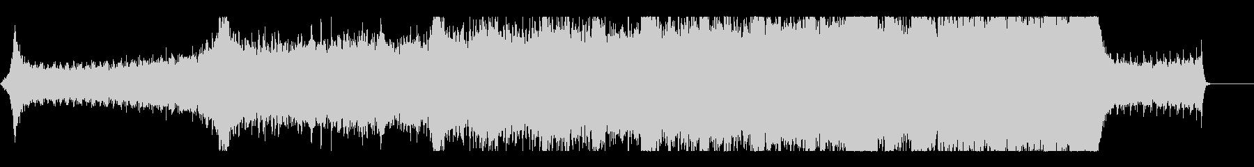 和風劇版/壮大な大河ドラマ風オーケストラの未再生の波形