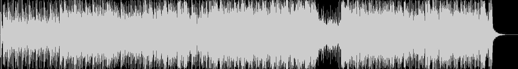 ヘヴィロック アクション 説明的 ...の未再生の波形