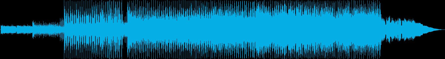 楽しい映像に合うエレクトロポップの再生済みの波形