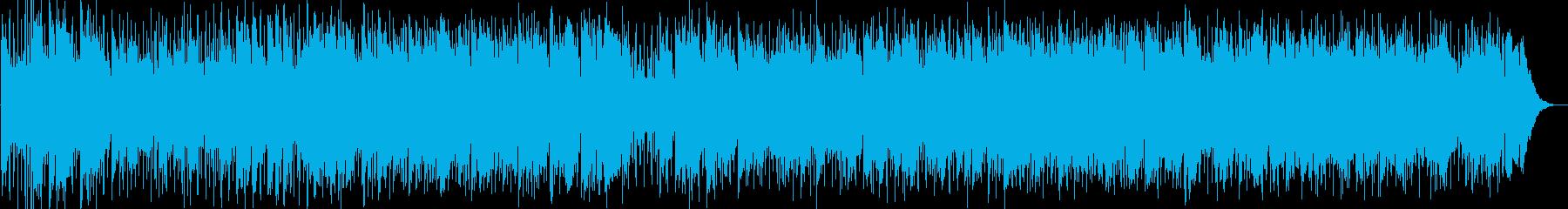 子供の頃の想い出を表現したポップバラードの再生済みの波形