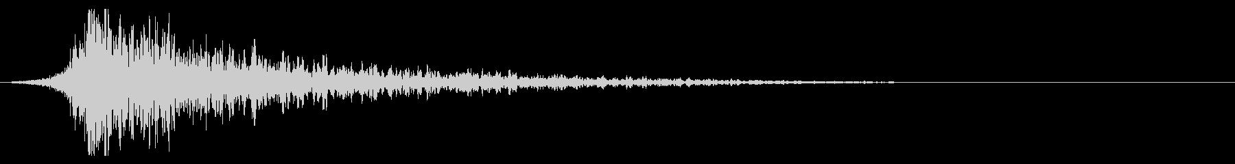 シュードーン-23-2(インパクト音)の未再生の波形