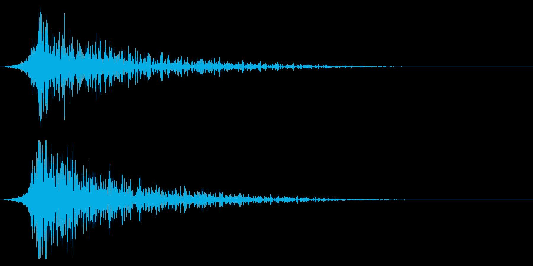 シュードーン-23-2(インパクト音)の再生済みの波形