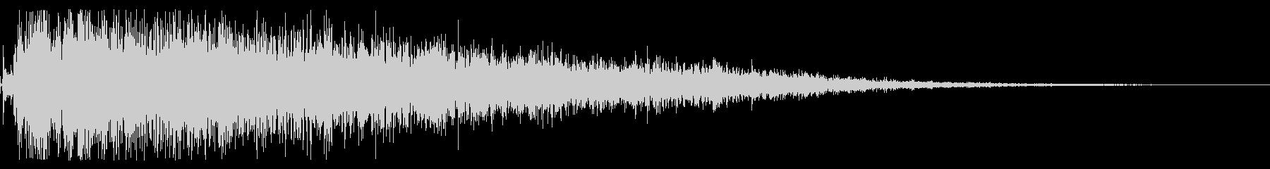 モンスター ゾンビ うめき声 ステレオの未再生の波形