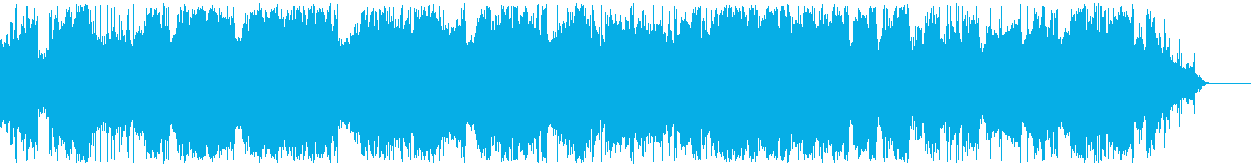 電力線バズとハムの再生済みの波形