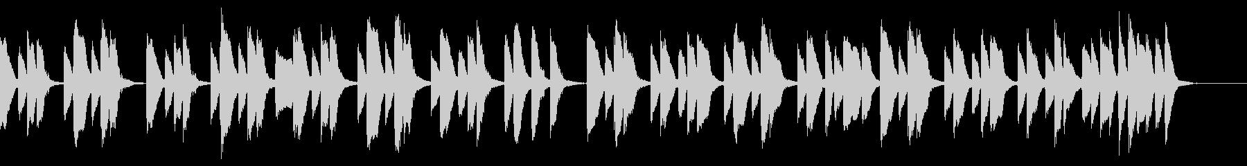 知育・料理・パズル・日常ピアノ28Aの未再生の波形
