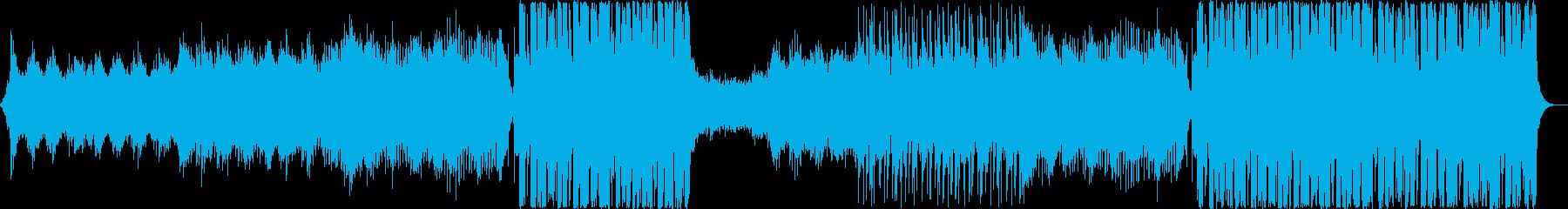 オシャレでエモい海外風フューチャーベースの再生済みの波形