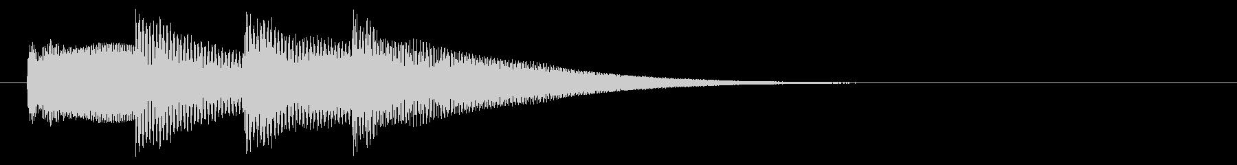 お知らせ/ピンポンパンポン/アナウンスの未再生の波形