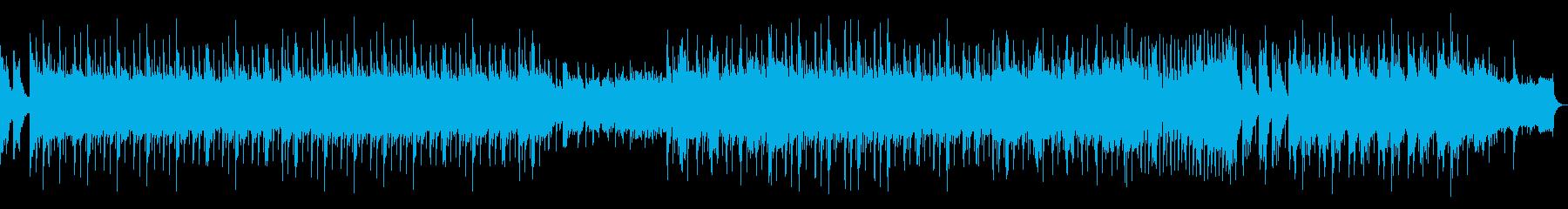 高音質♪琴和風ポップの再生済みの波形