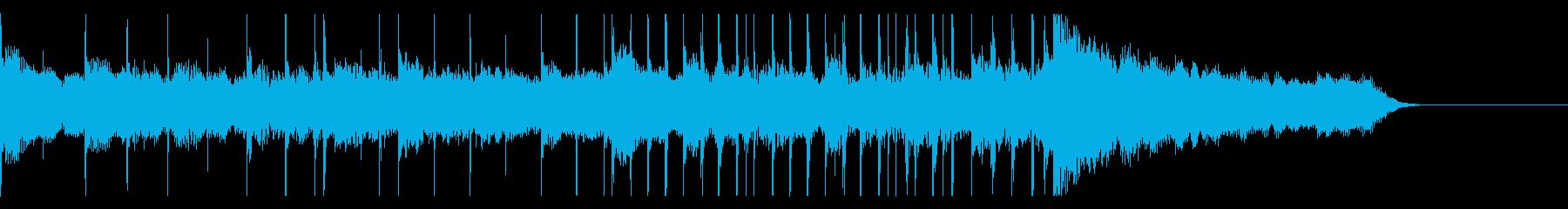 ボイスパーカッションでやさしいBGM1の再生済みの波形
