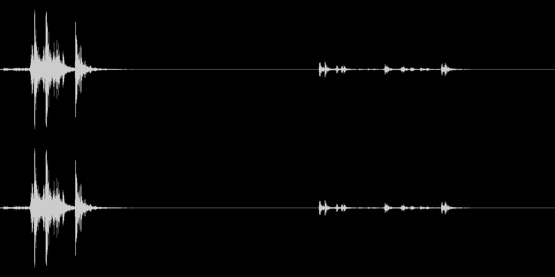 9 MM UZI:コックスライドマ...の未再生の波形