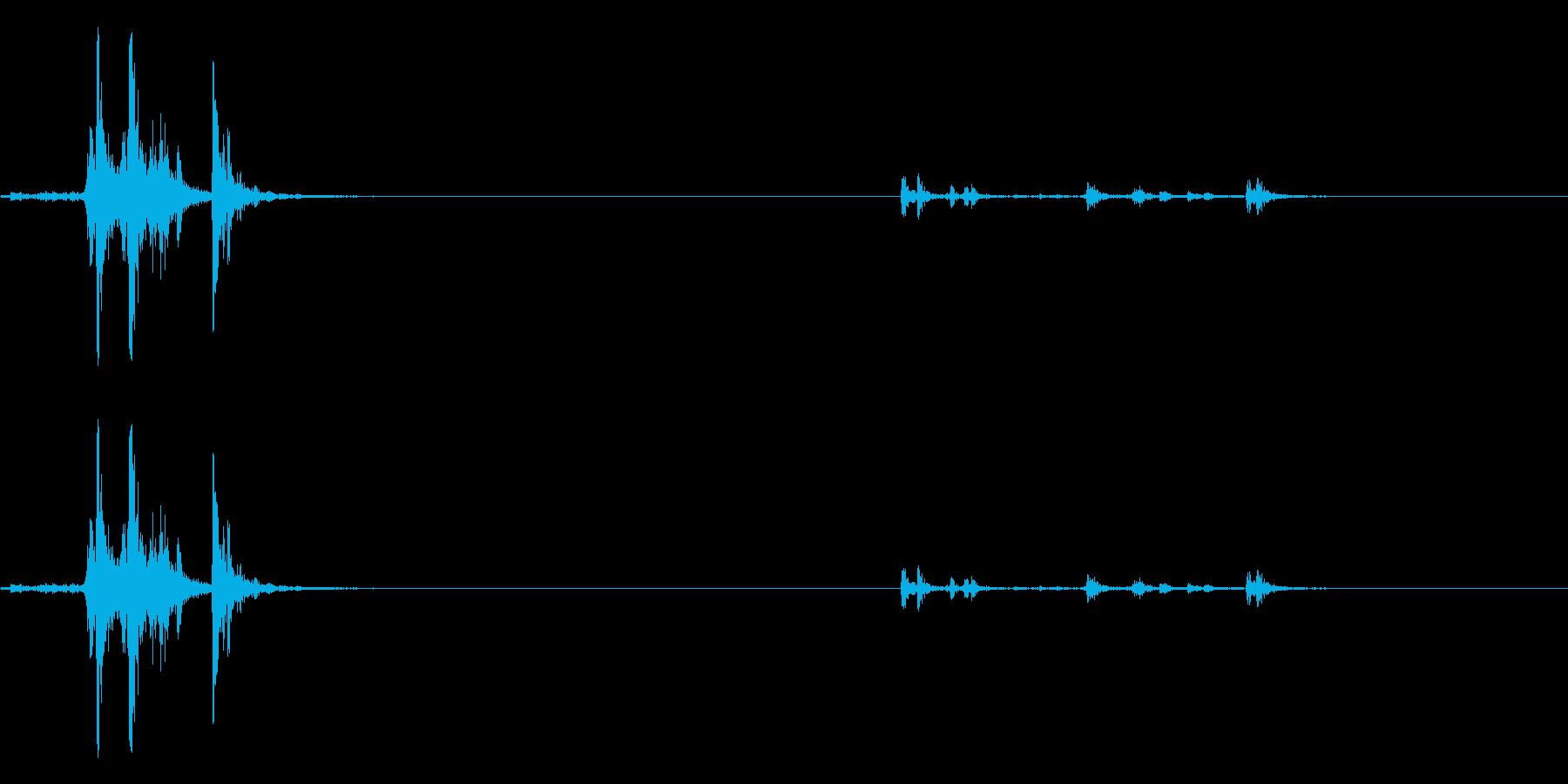 9 MM UZI:コックスライドマ...の再生済みの波形