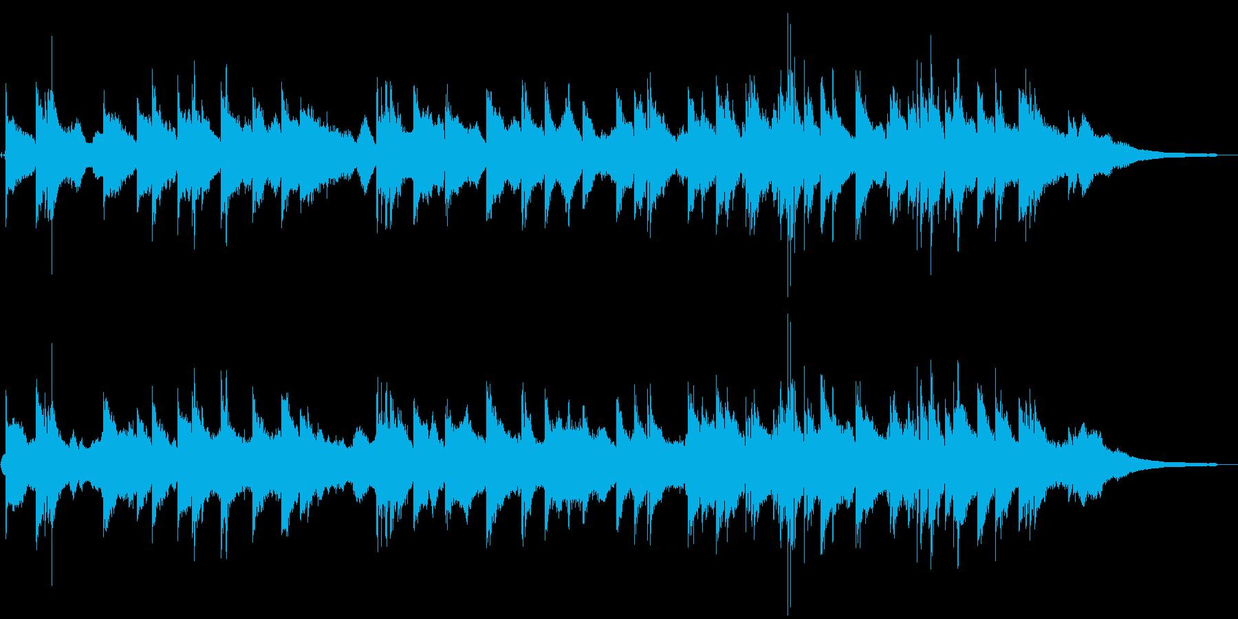 エスニックで浮遊感のあるアンビエントの再生済みの波形
