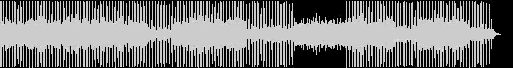 幻想的な雰囲気のミニマルテクノの未再生の波形