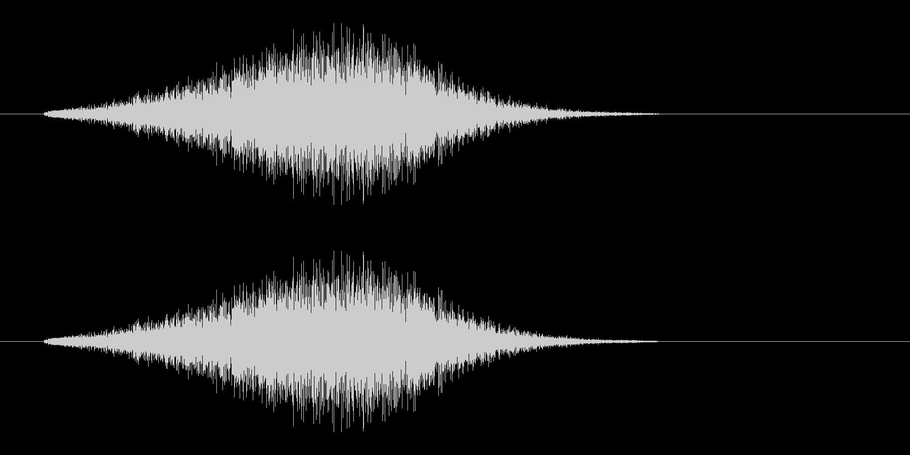レーザー音-157-3の未再生の波形