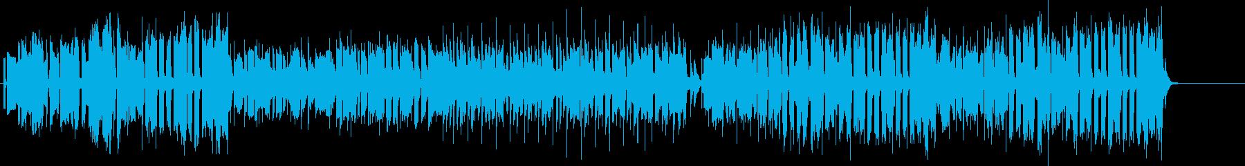 ファミコンとか昔のゲームっぽい曲の再生済みの波形