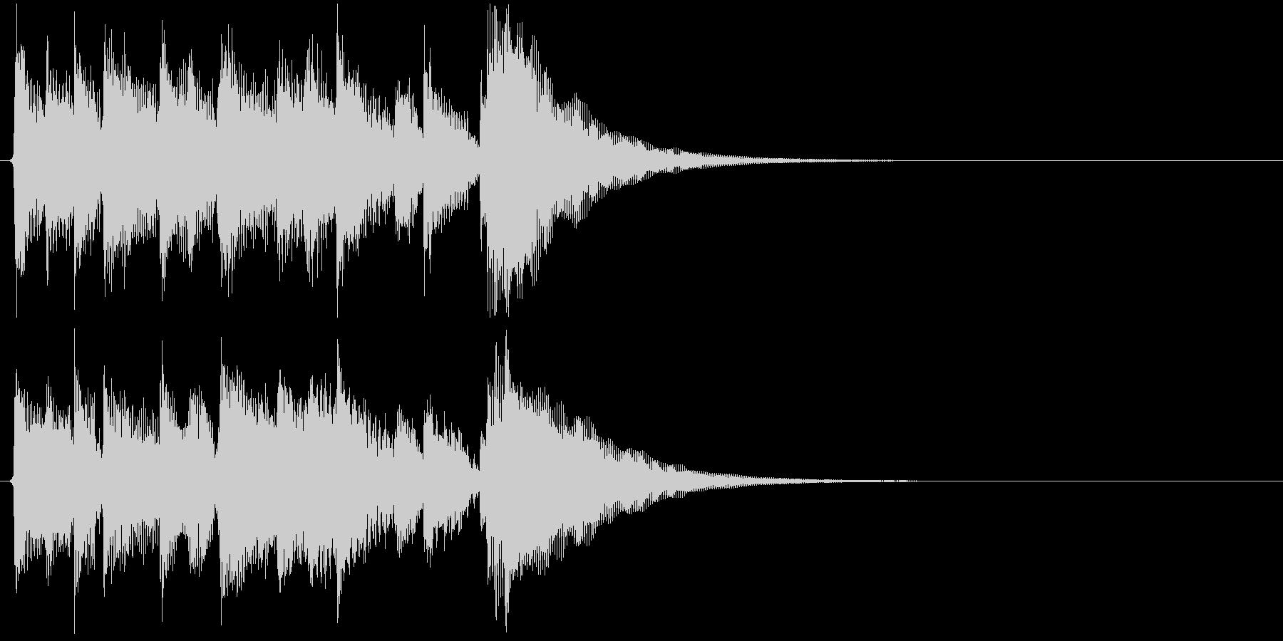 生演奏 アコギ キラキラ 良音 ジングルの未再生の波形
