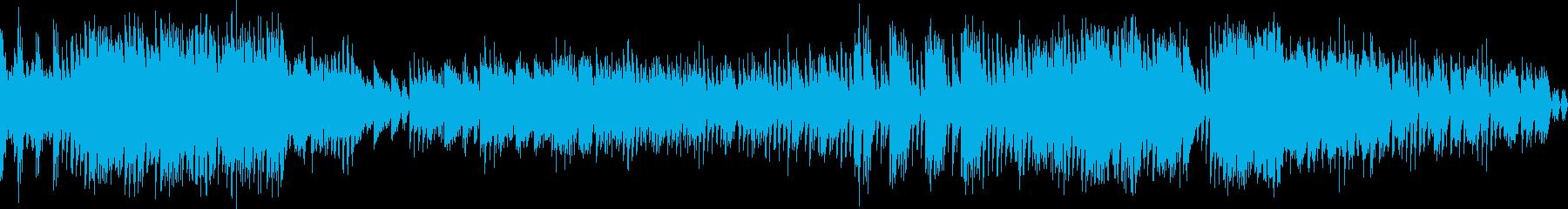 ループ用・和風・ピアノ・三味線・ノリノリの再生済みの波形